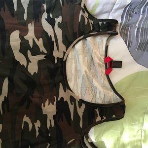 6fa4adcecff5b Hot Kiss Tops - Camo open shoulder top